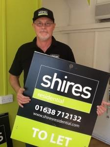 Howard Reid, Shires Residential Agency Support
